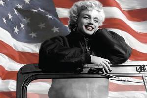 Patriotic Blonde by Robert Everson