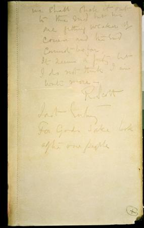 The Last Page of His Diary, Antarctica, 29th March 1912