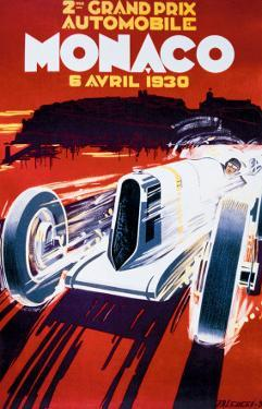 Grand Prix de Monaco, 1930 by Robert Falcucci