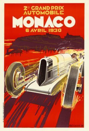 Monaco Grand Prix, 1930 by Robert Falcucci
