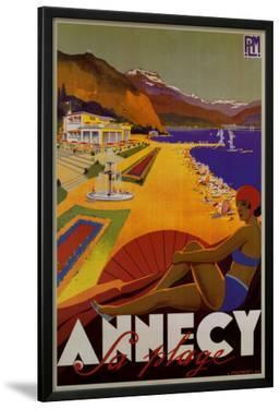 Annecy Sa Plage by Robert Fallucci