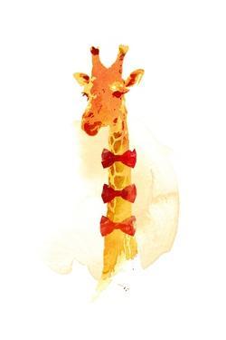 Elegant Giraffe by Robert Farkas