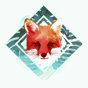 Green Fox 2 by Robert Farkas