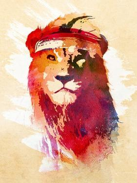 Gym Lion by Robert Farkas