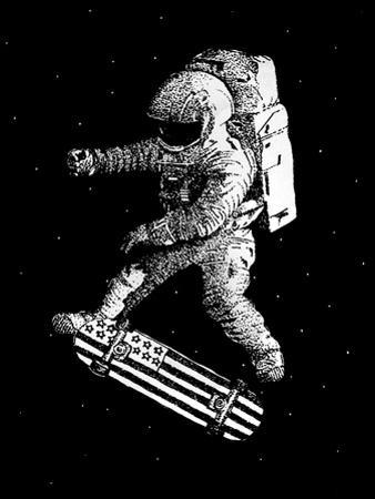 Kickflip in Space by Robert Farkas