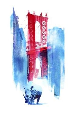 Manhattan Bridge by Robert Farkas