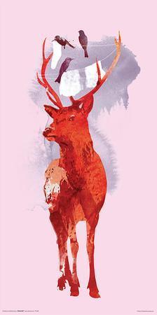 Robert Farkas- Deer And Birds