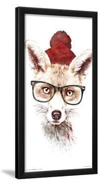 Robert Farkas- Hipster Fox by Robert Farkas