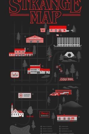 Strange Map by Robert Farkas