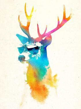 Sunny Stag by Robert Farkas