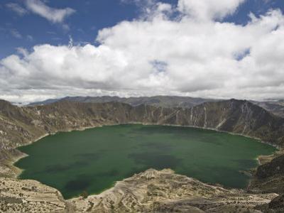 Laguna Quilatoa, Cotopaxi Province, Central Highlands, Ecuador by Robert Francis
