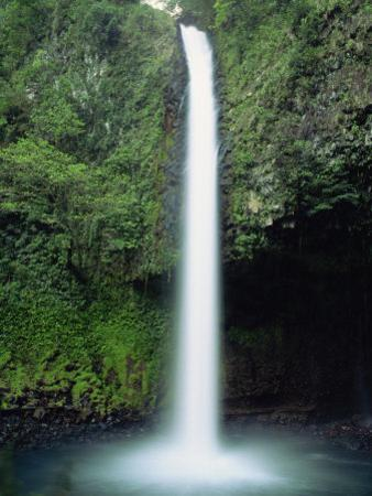 Rio Fortuna Waterfalls on the Slopes of Volcan Arenal, Costa Rica, Central America by Robert Francis
