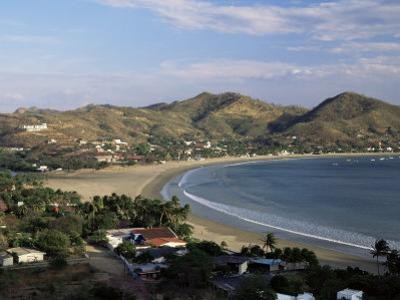 The Bay at San Juan Del Sur, South Coast, Pacific, Nicaragua, Central America by Robert Francis