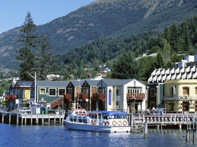 The Waterfront, Queenstown, Lake Wakatipu, Otago, South Island, New Zealand by Robert Francis