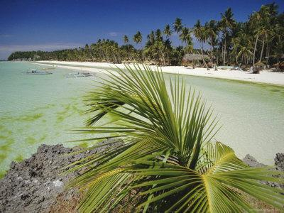 West Coast Beach, Boracay, Island off the Coast of Panay, Philippines