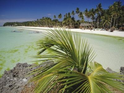 West Coast Beach, Boracay, Island off the Coast of Panay, Philippines by Robert Francis