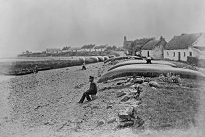 Scattery Island, Kilrush, County Clare, C.1890 by Robert French