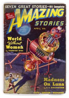 """""""World Without Women"""", The Robot Who Saves Humanity from Extinction (Thornton Ayre) by Robert Fugua"""