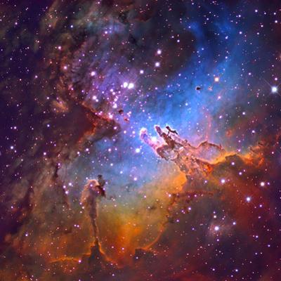 M16 (NGC 6611) the Eagle Nebulis 7000 Light Years Away