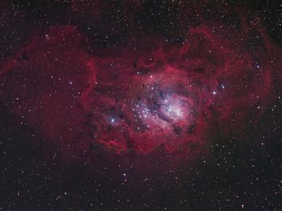 NGC 6530 the Lagoon Nebula, M8, Distance is 5800 Light Years by Robert Gendler