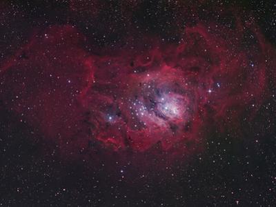 NGC 6530 the Lagoon Nebula, M8, Distance is 5800 Light Years by Robert Gendler
