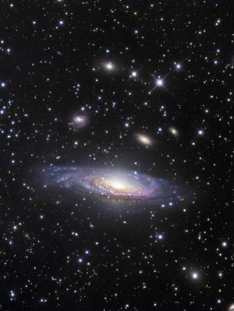 NGC 7331 Spiral Galaxy in Pegasus