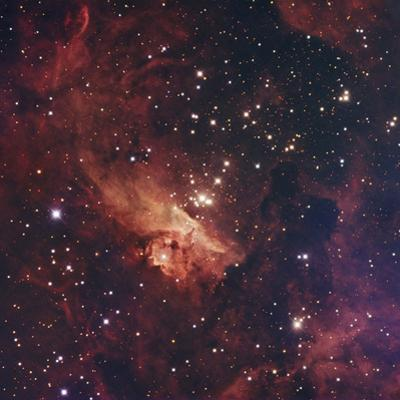 """Pismis 24 (Core Cluster of NGC 6357 """"Lobster Nebula"""" or """"War and Peace Nebula"""")"""