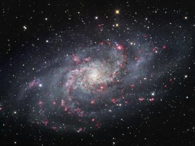 Spiral Galaxy in Triangulum, M33
