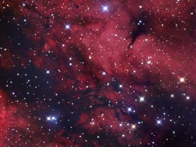 The Butterfly Nebula or Gamma Cygni Nebulosity, Ici318 in Cygnus