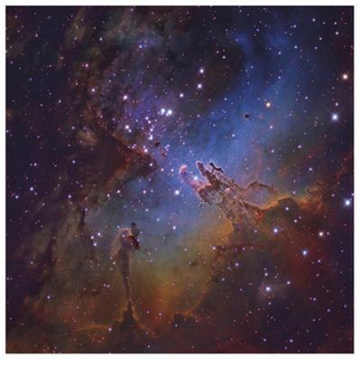 The Eagle Nebula in Serpens
