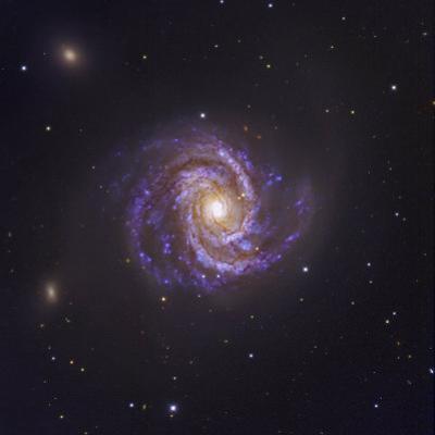 The Spiral Galaxy M100 and Supernova Sn2006X