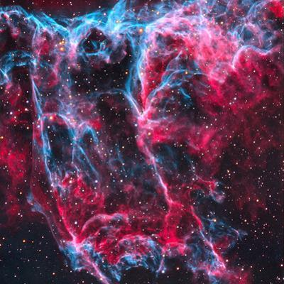 The Veil Nebulcygnus Loop (NGC 6960,6992,6995)