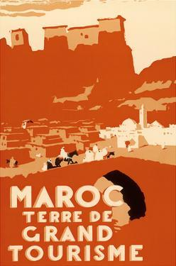 Maroc Terre De Grand Tourisme (Morocco Land of Grand Touring) by Robert Génicot