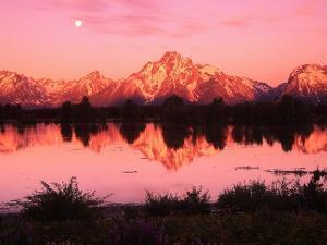 Mount Moran at Dusk by Robert Glusic
