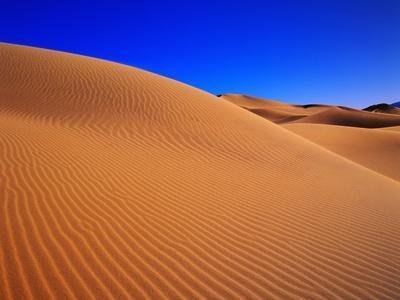 Patterns in Sand Dunes