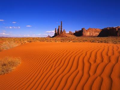 Sandy Landscape in Monument Valley