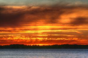 1,000 Islands Sunset by Robert Goldwitz