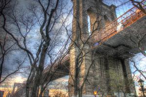 Brooklyn Bridge Early Spring by Robert Goldwitz