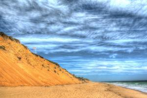 Cape Cod Dune and Colors 2 by Robert Goldwitz