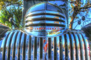 Classic Chevy Truck Grill by Robert Goldwitz