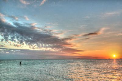 Key West Paddleboard Sunset