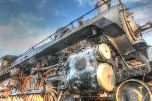 Locomotive 1 by Robert Goldwitz