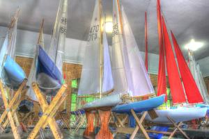 Model Sailboat Clubhouse by Robert Goldwitz