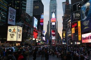 Times Square by Robert Goldwitz