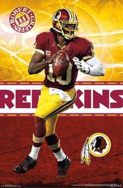 Robert Griffin III Washington Redskins NFL Sports Poster