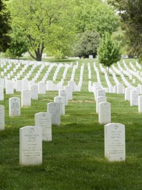 Arlington National Cemetery, Arlington, Virginia, United States of America, North America by Robert Harding