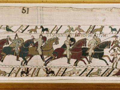 Bayeux Tapestry, Normandy, France, Europe
