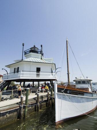 Chesapeake Bay Maritime Museum, Miles River, Chesapeake Bay Area, Maryland, USA