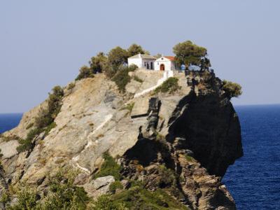 Church of Agios Ioannis, Used in the Film Mamma Mia, Skopelos, Sporades Islands, Greece by Robert Harding