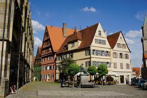 Dinkelsbuhl, Romantic Road, Franconia, Bavaria, Germany, Europe by Robert Harding